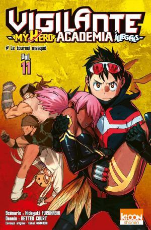 couverture, jaquette Vigilante - My Hero Academia illegals 11