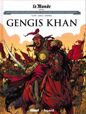 Les grands personnages de l'histoire en bandes dessinées 12 - Gengis Khan