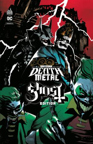 Batman - Death Metal 2 TPB Hardcover (cartonnée) - megadeth edition