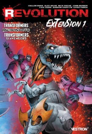 Revolution Extension édition TPB softcover (souple)
