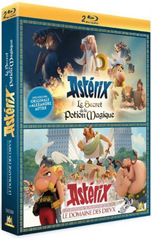 Astérix - Le Domaine des Dieux + Le Secret de la Potion Magique édition Coffret 2 films
