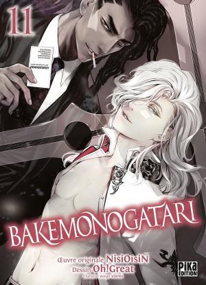 couverture, jaquette Bakemonogatari 11