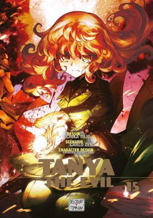 couverture, jaquette Tanya The Evil 15