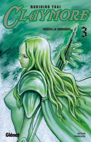 couverture, jaquette Claymore 3  - Thérèse la souriante (Glénat Manga)