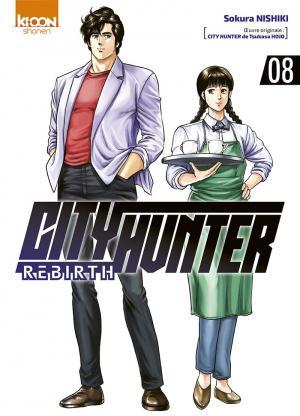 couverture, jaquette City Hunter Rebirth 8