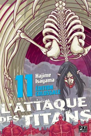 couverture, jaquette L'Attaque des Titans Colossale 11