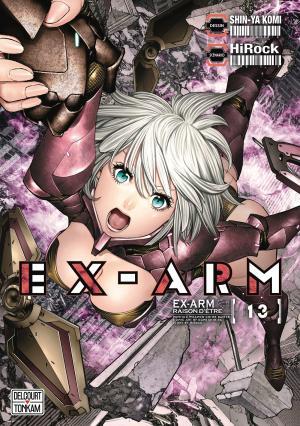 couverture, jaquette EX-ARM 13  (Tonkam)