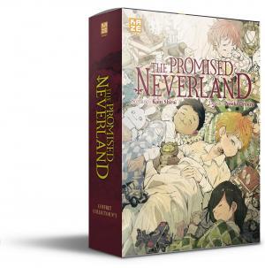 The promised Neverland - Coffret manga + roman 3 simple