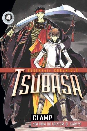 couverture, jaquette Tsubasa Reservoir Chronicle 4 Américaine (Del rey)