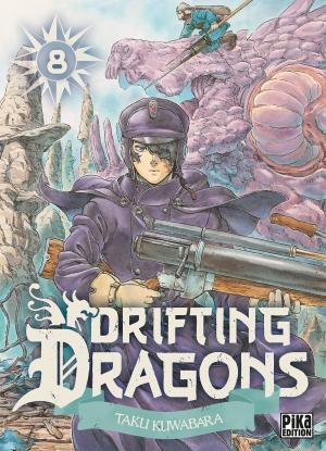 Drifting dragons 8 Manga