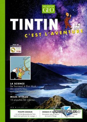 Tintin c'est l'aventure 8 Magazine