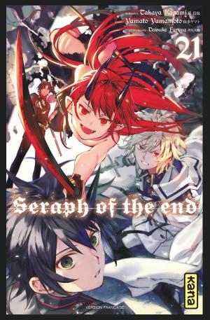 Seraph of the end 21 Manga