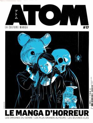 couverture, jaquette Atom 17