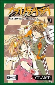couverture, jaquette Tsubasa Reservoir Chronicle 11 Allemande (Egmont manga)