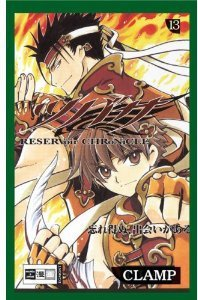 couverture, jaquette Tsubasa Reservoir Chronicle 13 Allemande (Egmont manga)