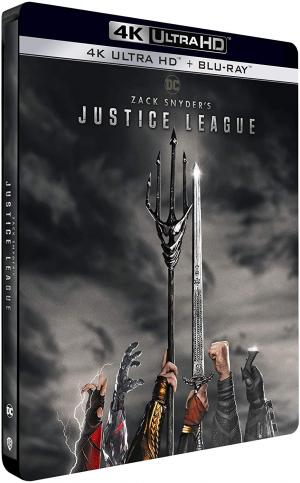 Zack Snyder's Justice League édition Steelbook