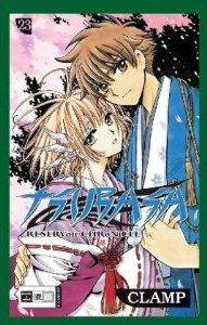 couverture, jaquette Tsubasa Reservoir Chronicle 23 Allemande (Egmont manga)