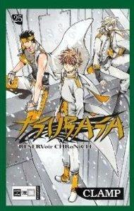 couverture, jaquette Tsubasa Reservoir Chronicle 25 Allemande (Egmont manga)