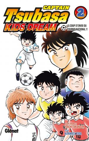 couverture, jaquette Captain Tsubasa Kids Dream 2