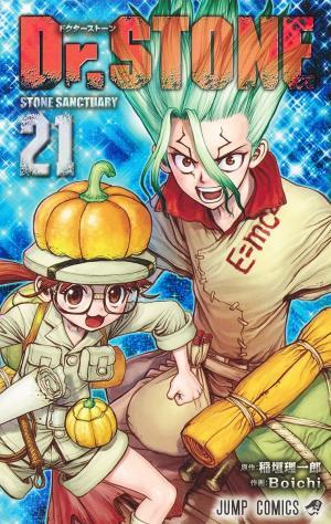 couverture, jaquette Dr. STONE 21  (Shueisha)