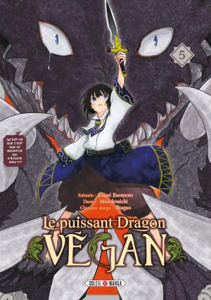 couverture, jaquette Le puissant dragon végan 5