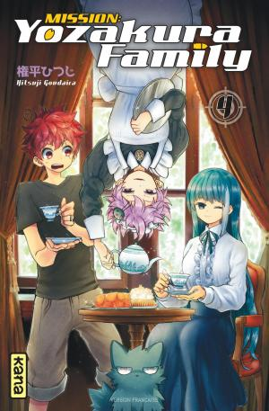 Mission : Yozakura Family 4 simple