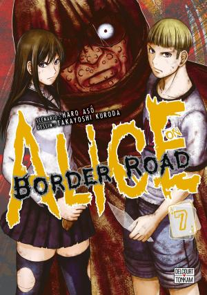 couverture, jaquette Alice on Border road 7
