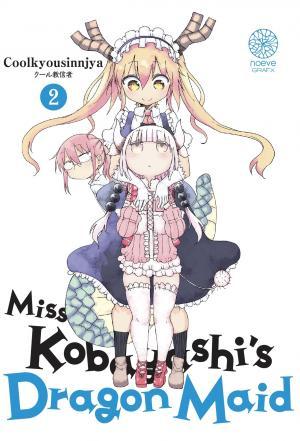 Miss Kobayashi's Dragon Maid 2 Manga