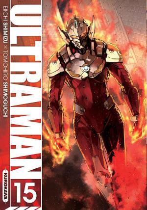 couverture, jaquette Ultraman 15