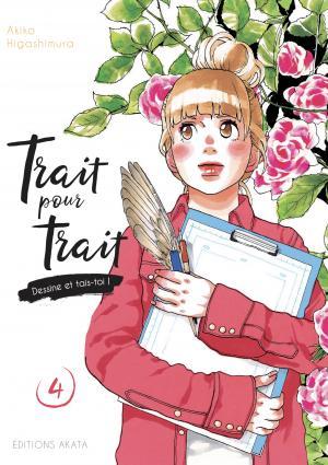 couverture, jaquette Trait pour trait 4  (Akata)