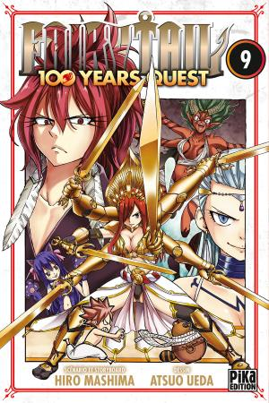 couverture, jaquette Fairy Tail 100 years quest 9