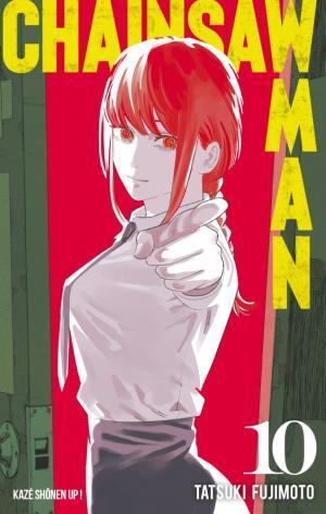 couverture, jaquette Chainsaw Man 10  (kazé manga) Manga