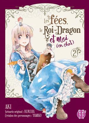 couverture, jaquette Les Fées, Le Roi-Dragon et Moi (En chat) 2  (nobi nobi!)