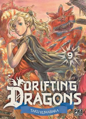couverture, jaquette Drifting dragons 9