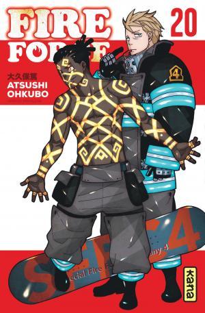 couverture, jaquette Fire force 20  (kana) Manga