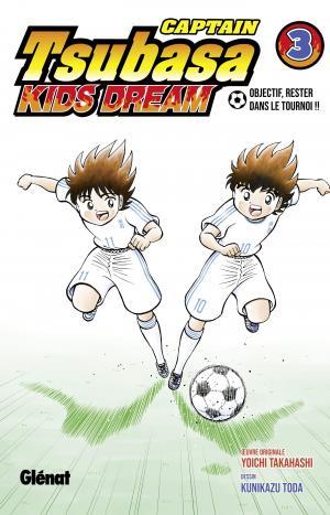 couverture, jaquette Captain Tsubasa Kids Dream 3