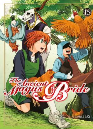 couverture, jaquette The Ancient Magus Bride 15  (Komikku Editions) Manga