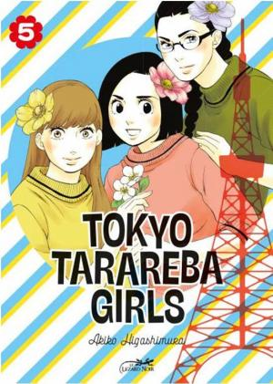 couverture, jaquette Tokyo tarareba girls 5  (le lézard noir) Manga