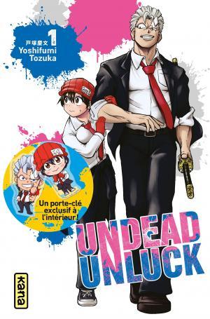Undead Unluck 1 Coffret collector tome 1 + porte-clef