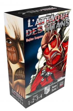 couverture, jaquette L'Attaque des Titans coffret 1