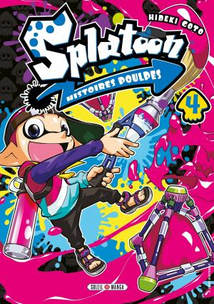 Splatoon - Histoires poulpes 4 Manga