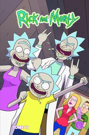Rick et Morty 11 TPB hardcover (cartonnée)
