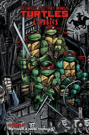 Teenage Mutant Ninja Turtles Classics 3 TPB hardcover (cartonnée)