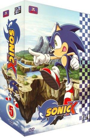 couverture, jaquette Sonic X SIMPLE  -  VF 2 5