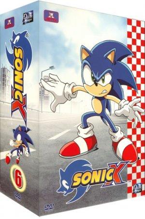 couverture, jaquette Sonic X 6 SIMPLE  -  VF 2 (Déclic images) Série TV animée