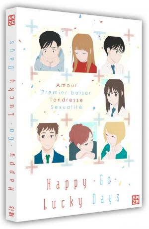Happy Go-Lucky Days  Combo BR+DVD