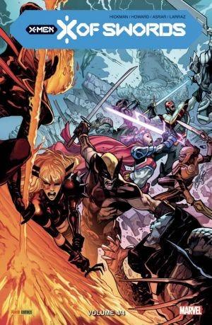 couverture, jaquette X-men - X of swords 4 TPB Softcover (souple) (Panini Comics) Comics