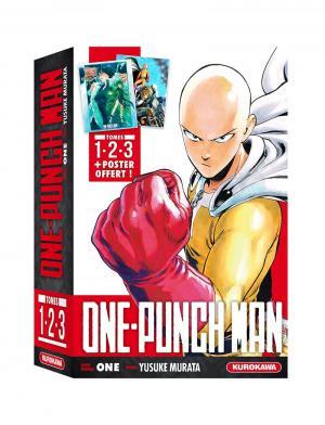couverture, jaquette One-Punch Man Coffret 1 à 3 - 2021 1