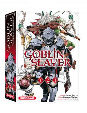 couverture, jaquette Goblin Slayer Coffret 1 à 3 1
