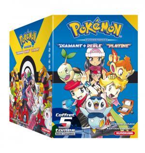 couverture, jaquette Pokémon Coffret Diamant - Perle - Platine 1
